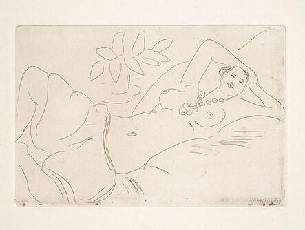 Henri Matisse, 'ODALISQUE COUCHEE', 1923