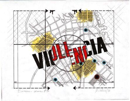 Margarita Paksa, 'Violencia . de la serie Batallas', 1972