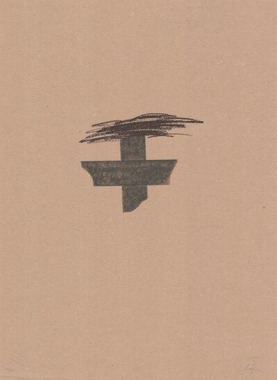 Antoni Tàpies, 'Llambrec material I', 1970-1980