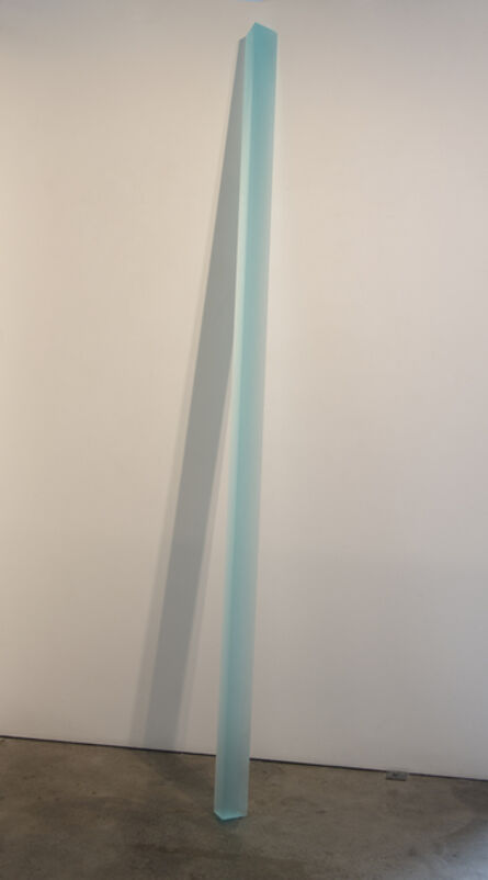 Peter Alexander, 'Turquoise Leaner (6/18/15)', 2015