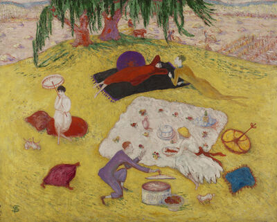 Florine Stettheimer, 'Picnic at Bedford Hills', 1918