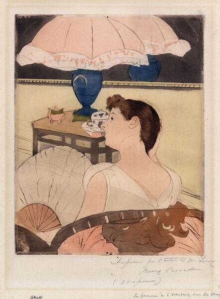 Mary Cassatt, 'The Lamp.', ca. 1891