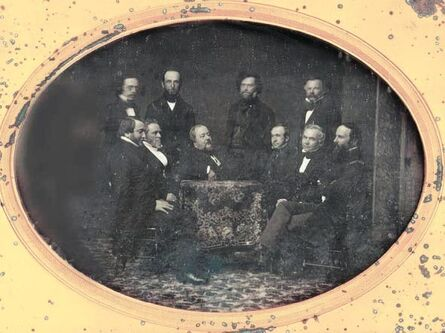 Daguerreotypes, 'In the Company of Philadelphia Publishers', 1856, 57/1856, 57