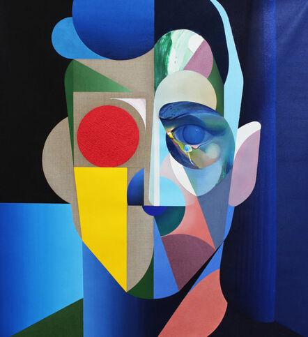 Ryan Hewett, 'Male Linen Portrait', 2018