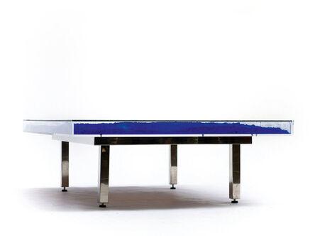 Yves Klein, 'Table Bleu', 1961