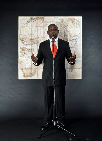 Barthélémy Toguo, 'Stupid African President 1', 2006