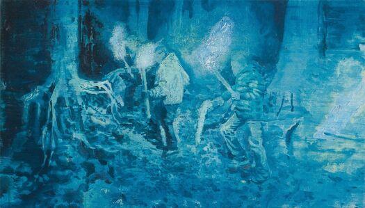 Vlad Yurashko, 'Night torch-bearers', 2017