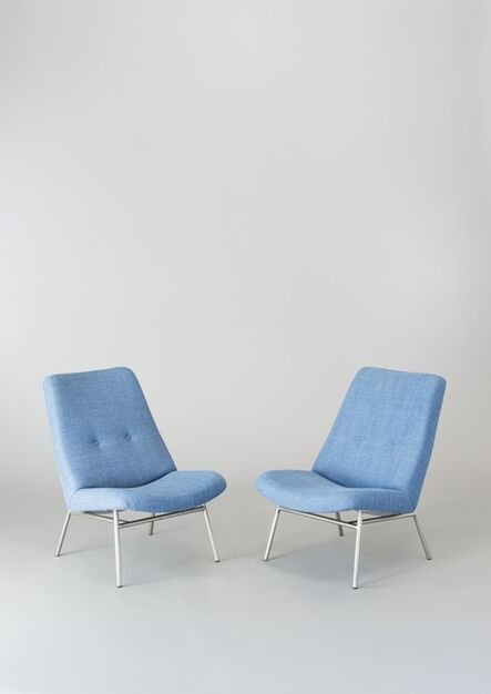 Pierre Guariche, 'Pair of chairs SK660', 1953