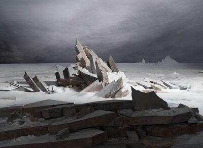 James Casebere, 'Sea of Ice', 2014