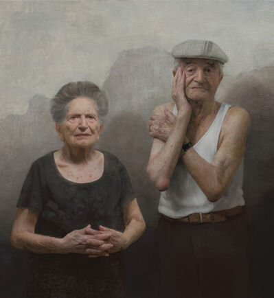 David Kassan, 'Love and Resilience (Louise and Lazar Farkas)', 2017