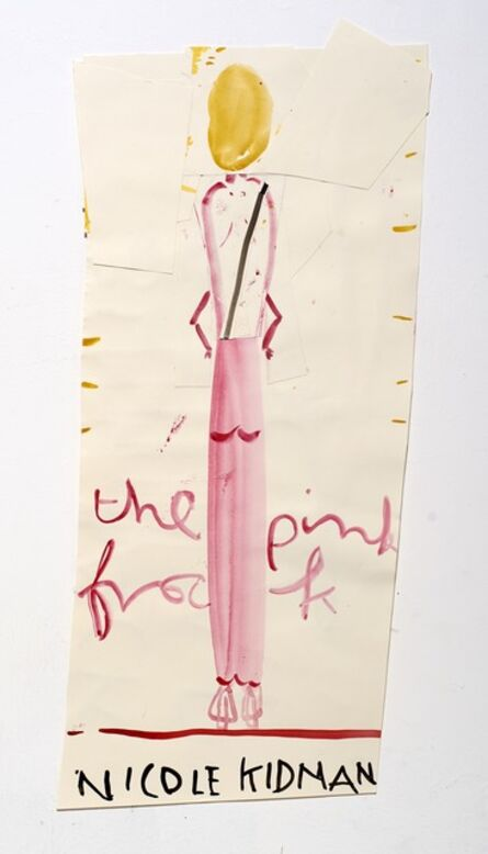 Rose Wylie, 'The Pink Frock (NK)', 2014
