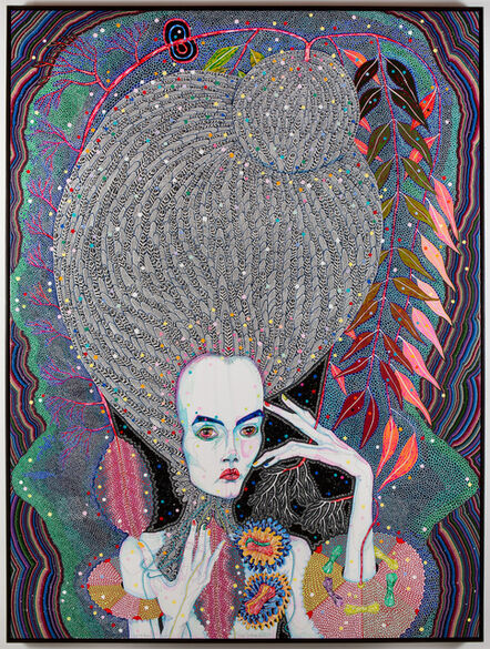 Del Kathryn Barton, 'but my dreams', 2013