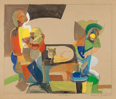 Ronald Joseph, 'Home - Paris', 1951