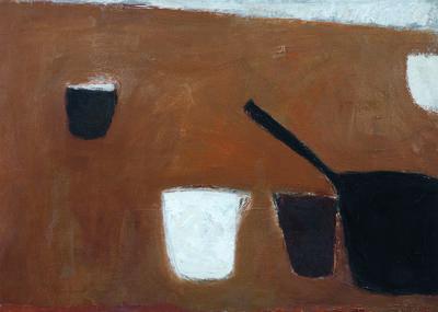 William Scott (1913-1989), 'Still Life', 1958