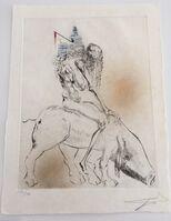 Salvador Dalí, 'Faust - Femme Au Cochon Baubo', 1969
