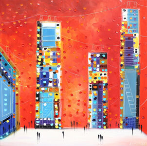 Ekaterina Ermilkina, 'Night City', 2020