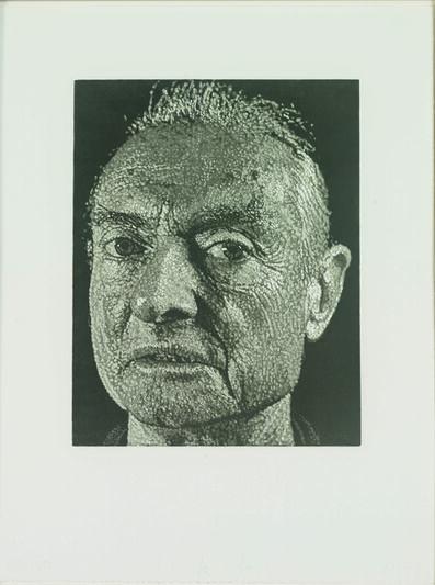 Chuck Close, 'Roy', 1998