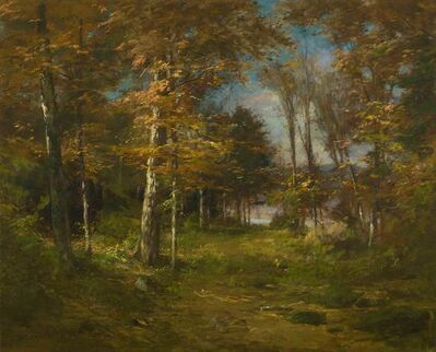 Roswell Morse Shurtleff, 'October Woodlands', 19th -20th Century