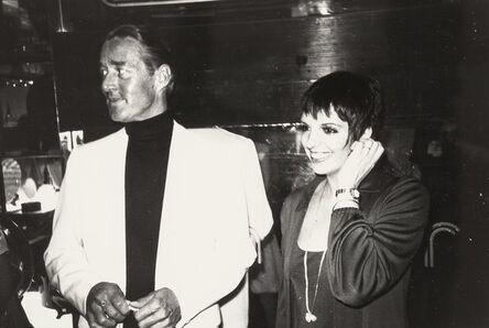 Andy Warhol, 'Halston and Liza Minelli', circa 1980