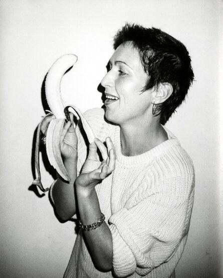 Andy Warhol, 'Pat Hackett with a Banana', 1986