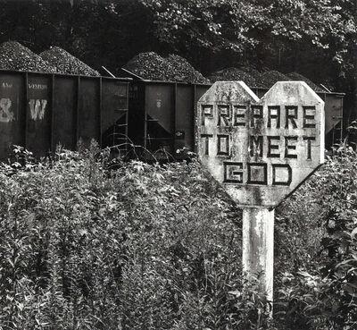 Builder Levy, 'Prepare to Meet God, Williamson, Mingo County, West Virginia', 1971