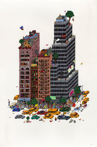 Guillaume Cornet, 'Green Peace in NYC', 2020
