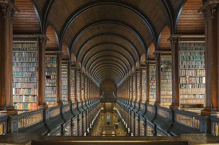 Reinhard Gorner, 'Trinity College Library - The Long Room II', 2015