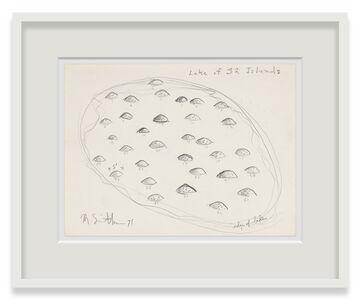 Robert Smithson, 'Lake of 32 Islands', 1971