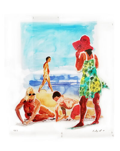 Eric Fischl, 'Two Woman and a Boy', 2017
