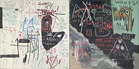 Jean-Michel Basquiat, 'Diagram of the Ankle (The Ankle)', 1982