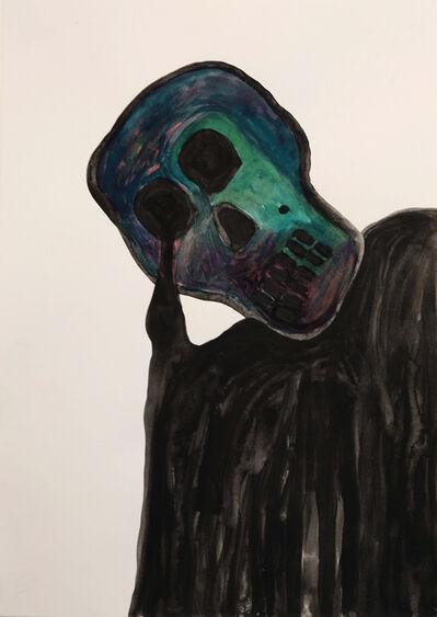 Alex Gene Morrison, 'Melting Skull', 2015