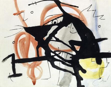 Joan Miró, 'Personnage, oiseaux IV (W7803)', 1976