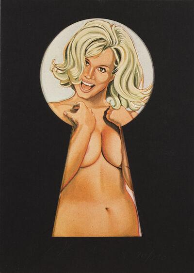 Mel Ramos, 'Peekabooblonde', 1980