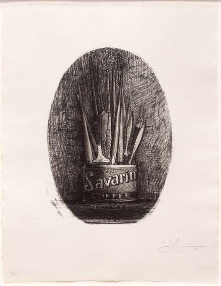 Jasper Johns, 'Savarin 4 (Oval)', 1978