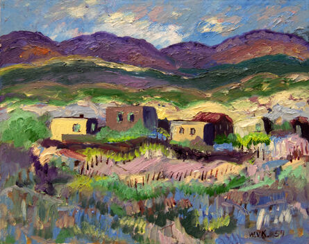 William Vincent Kirkpatrick, 'Village by the Mountainside', 1957