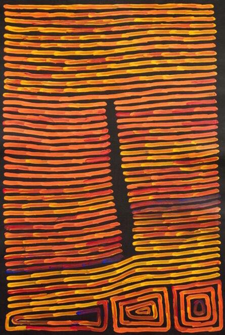 Ronnie Tjampitjinpa, 'Fire and Tingari', 2015
