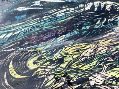 Elizabeth Durack, 'Flightless Birds Achieving Lift-off 9', 1975