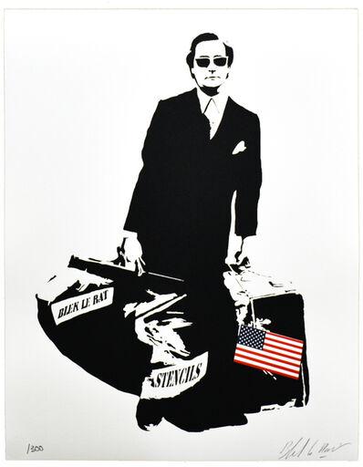 Blek le Rat, 'THE MAN WHO WALKS THROUGH WALLS ', 2008