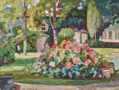 Victor L. Charreton, 'Fleurs dans le parc', 1933
