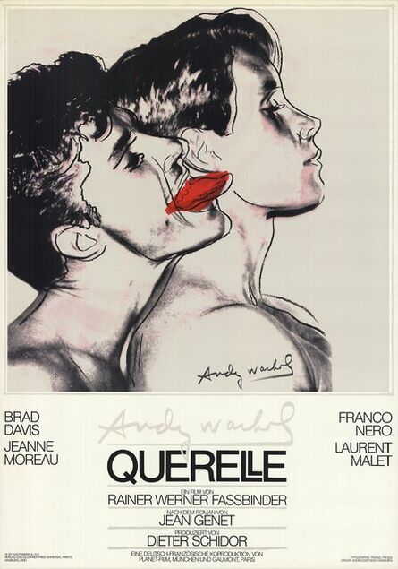 Andy Warhol, 'Querelle', 1983