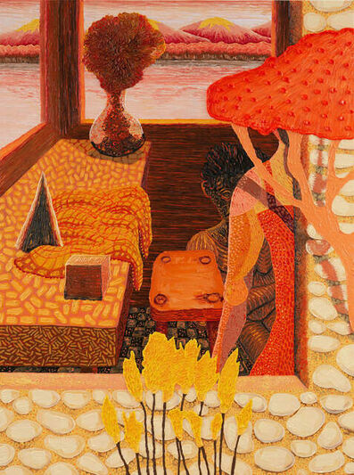 Mark Frygell, 'Orange Couple', 2021