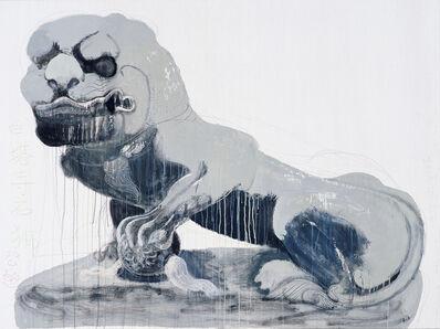 Wang Yuping, 'Stone Lion at White Pagoda Temple (Male)', 2010