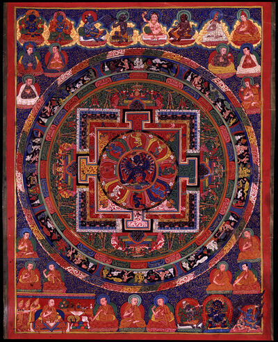 'Hevajra Mandala', 18th century
