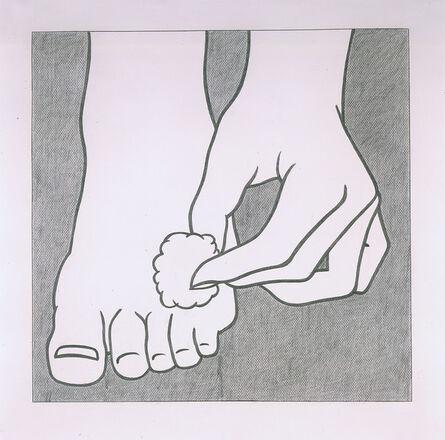 Roy Lichtenstein, 'Foot Medication', 1962