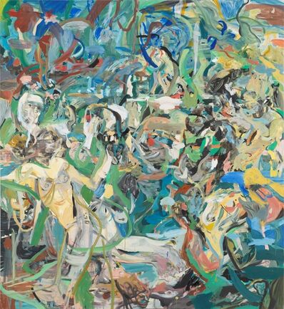 Cecily Brown, 'The Girl and Goat', 2013-2014