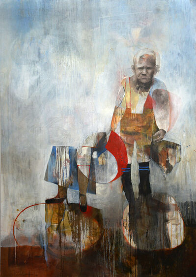 Fiona Ackerman, 'Out Far and in Deep - Powerful and large scale narrative painting', 2006