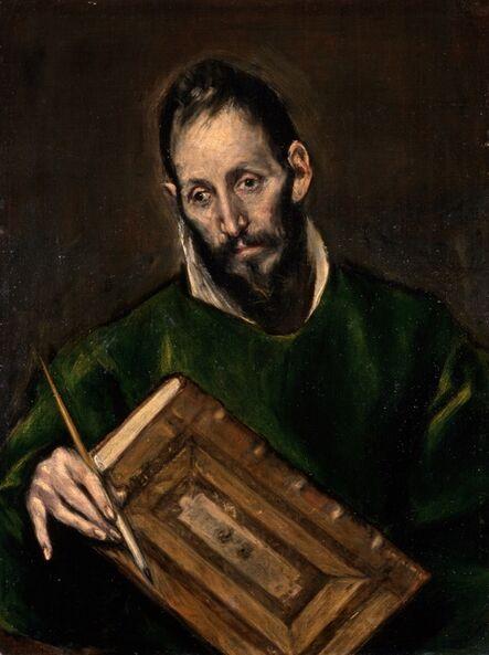 El Greco, 'Saint Luke', 1600-1605