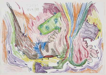 Carroll Dunham, 'Untitled', 1989