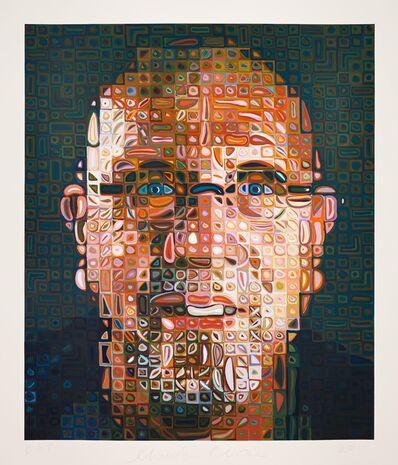 Chuck Close, 'Self-Portrait Screenprint', 2012