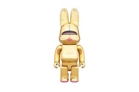 BE@RBRICK, 'Sorayama Sexy Robot 400% Gold (Rabbit)', 2018